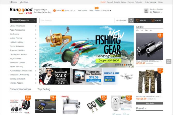banggood website
