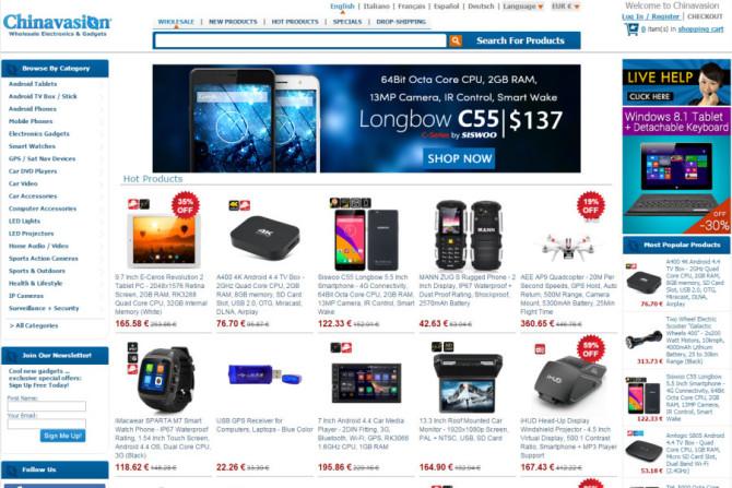 chinavasion website