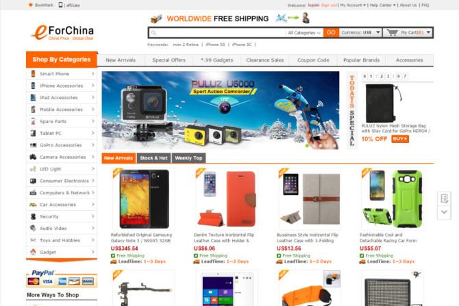 eforchina website