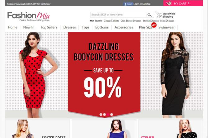fashionmia website