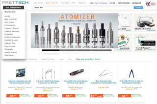 Fasttech gadgets, Vaping & Electronic Cigars