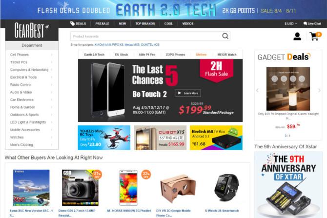 gearbest website