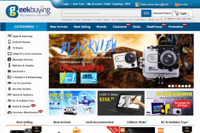 geekbuying website