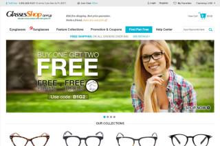 glassesShop website
